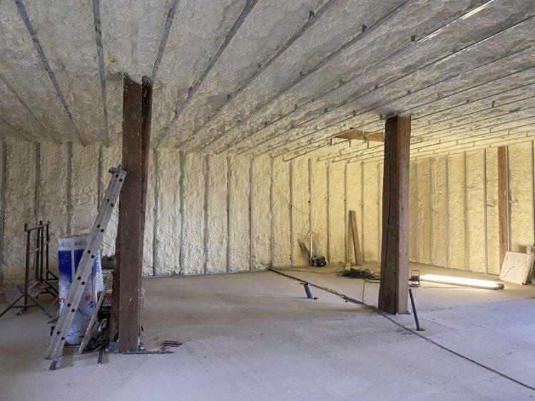 Isolation mur et comble IPE AIR Vosge partie 1